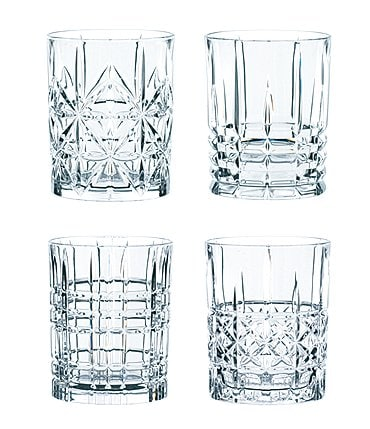Image of Nachtmann Highland Whiskey Glasses Set of 4