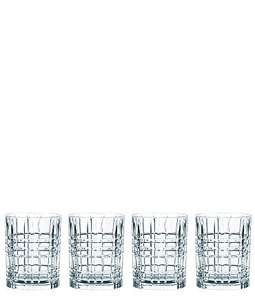 Image of Nachtmann Square Whiskey Glasses, Set of 4