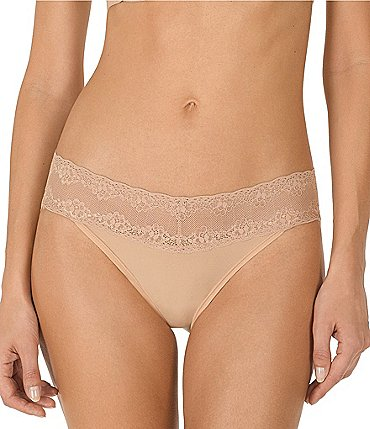 Image of Natori Bliss Perfection V-kini Panty 3-Pack