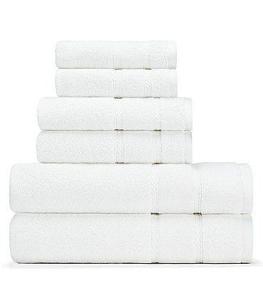 Image of Nautica Belle Haven 6-Piece Bath Towel Set