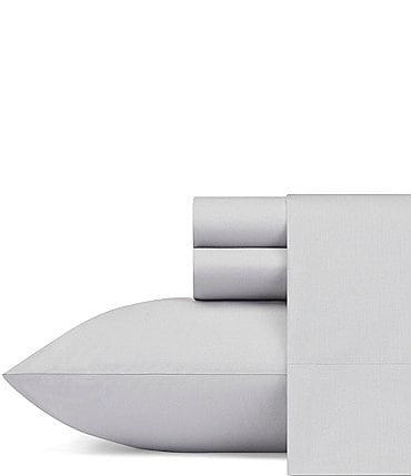 Image of Nautica Solid Cotton Sheet Set