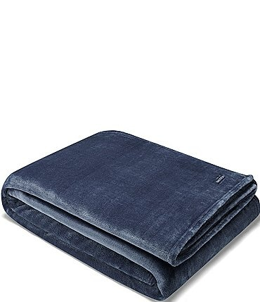 Image of Nautica Ultra Soft Plush Blanket