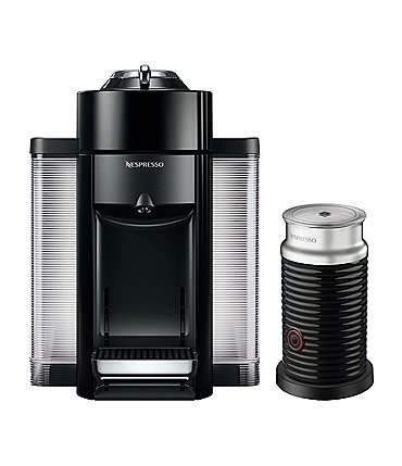 Image of Nespresso by DeLonghi Vertuo Evoluo Coffee & Espresso Maker Bundle