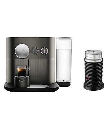 Image of Nespresso by Delonghi Vertuo Expert Single-Serve Espresso Bundle Machine