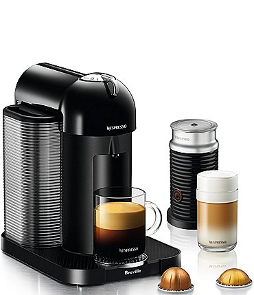 Image of Nespresso by Breville Vertuo Centrifusion Espresso Maker with Aeroccino Milk Frother
