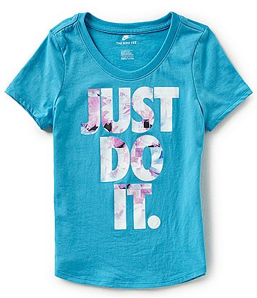 Image of Nike Big Girls 7-16 Just Do It Sportswear Tee