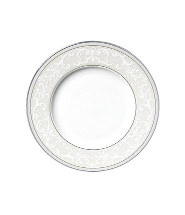 Image of Nikko Pearl Symphony Scroll Bone China Bread & Butter Plate