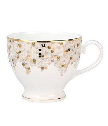 Image of Nikko Spangles Shimmering Bone China Teacup