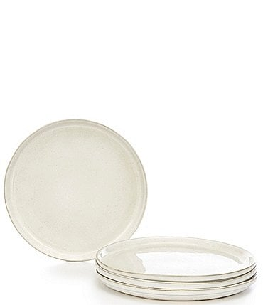 Image of Noble Excellence Aurora Collection Glazed Dinner Plates, Set of 4