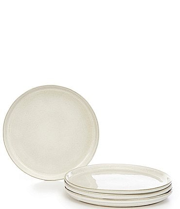Image of Noble Excellence Aurora Collection Glazed Salad Plates, Set of 4