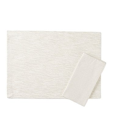 Image of Noble Excellence Grasscloth Table Linens
