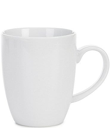 Image of Noble Excellence Le Blanc Porcelain White Coffee Mug