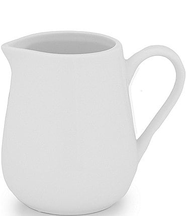 Image of Noble Excellence Le Blanc Porcelain White Creamer