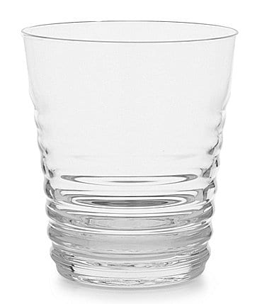Image of Noble Excellence Moderne Ribbed Double Old Fashioned Glass