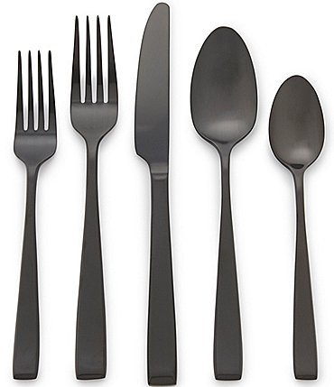 Image of Noble Excellence Nova PVD Stainless Steel 20-Piece Flatware Set