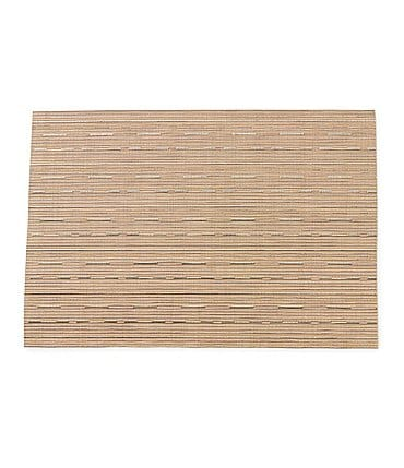 Image of Noble Excellence Striped Woven Placemat