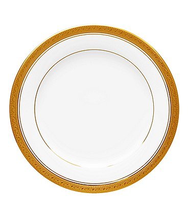 Image of Noritake Crestwood Gold China 8.25 Salad Plate