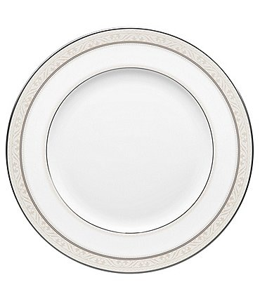 Image of Noritake Montvale Platinum China Dinner Plate