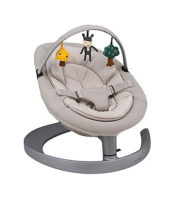 Image of Nuna Leaf Grow Baby Lounger Chair with Toy Bar