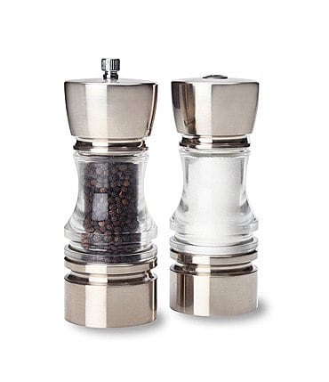 Image of Olde Thompson Crown Pepper Mill and Salt Shaker Set