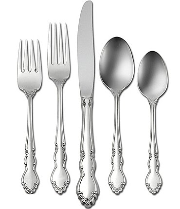 Image of Oneida Dover 20-Piece Stainless Steel Flatware Set
