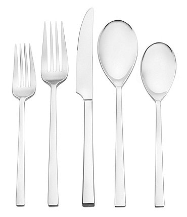 Image of Oneida Dupree Stainless Steel 45-Piece Casual Flatware Set