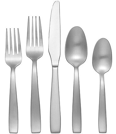Image of Oneida Everdine Modern Stainless Steel Flatware