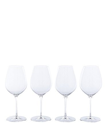 Image of Oneida for Karen MacNeil Flavor First Bold & Powerful Red Wine Glasses, Set of 4