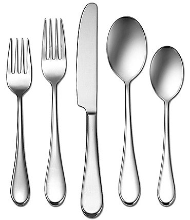 Image of Oneida Icarus 45-Piece Stainless Steel Flatware Set