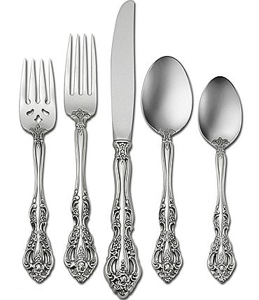 Image of Oneida Michelangelo Traditional 20-Piece Stainless Steel Flatware Set