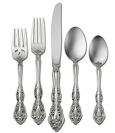 Image of Oneida Michelangelo Traditional 45-Piece Stainless Steel Flatware Set