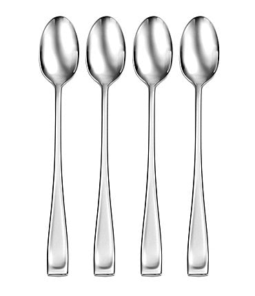 Image of Oneida 4-Piece Moda Stainless Steel Iced Tea Spoon Set