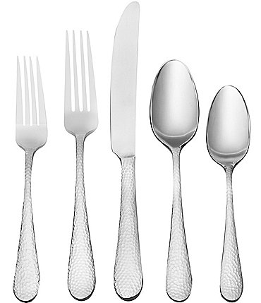 Image of Oneida Tibet 45-Piece Stainless Steel Flatware Set