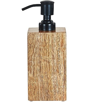 Image of Oscar/Oliver Mason Wooden Lotion Dispenser
