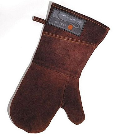 Image of Outset Leather Grill Mitt