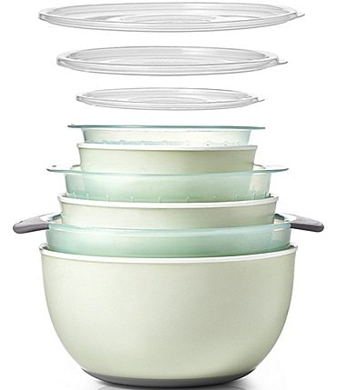 Image of OXO 9-Piece Nesting Bowls and Colanders Sets