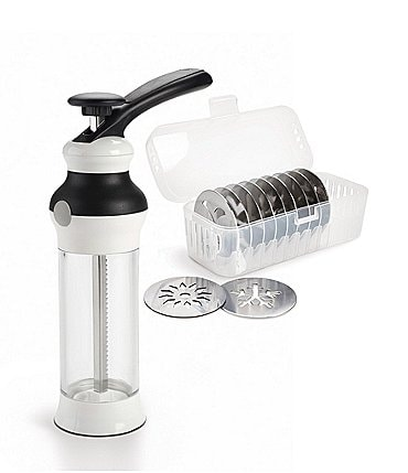 Image of OXO Cookie Press with Disk Storage Case
