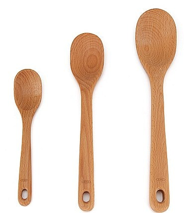 Image of OXO Good Grips 3-Piece Wooden Spoon Set