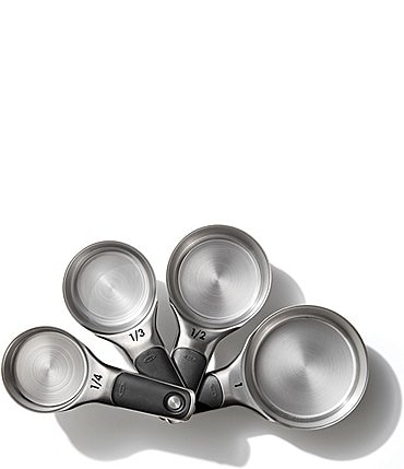 Image of OXO Good Grips 4-Piece Stainless Steel Measuring Cup Set