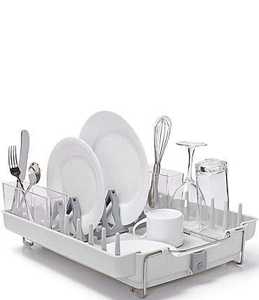 Image of OXO Good Grips Foldaway Dish Rack