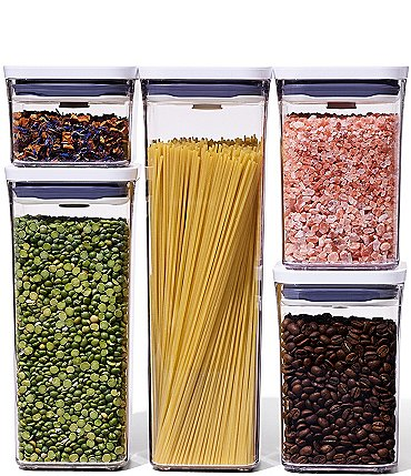 Image of OXO Good Grips Pop 5-Piece Storage Container Set