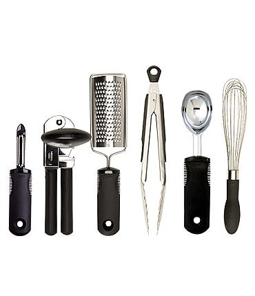 Image of OXO International Good Grips 6-Piece Kitchen Essentials Set