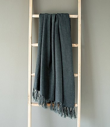 Image of Park Hill Washed Linen Throw