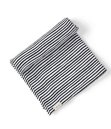 Image of Pehr Baby Stripes Away Organic Cotton Swaddle Blanket
