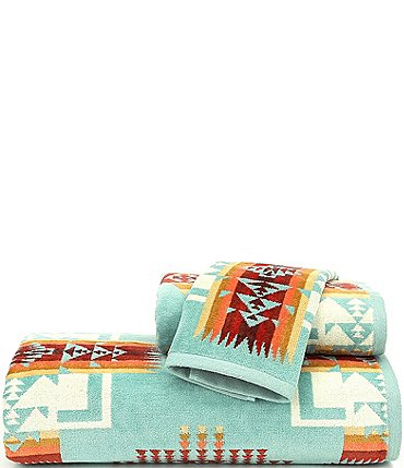 Image of Pendleton Chief Joseph Iconic Jacquard Bath Towels