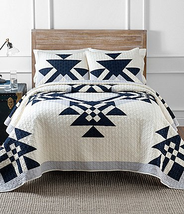 Image of Pendleton Goose Lake Pieced Quilt Mini Set