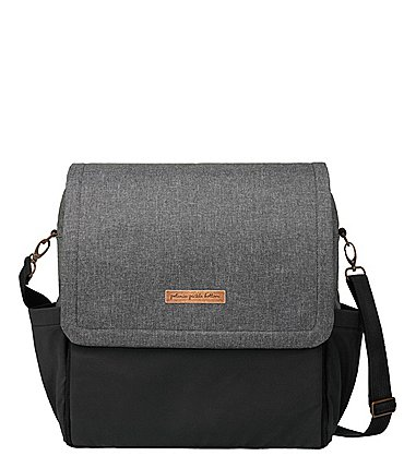 Image of Petunia Pickle Bottom Boxy Backpack Colorblock Diaper Bag