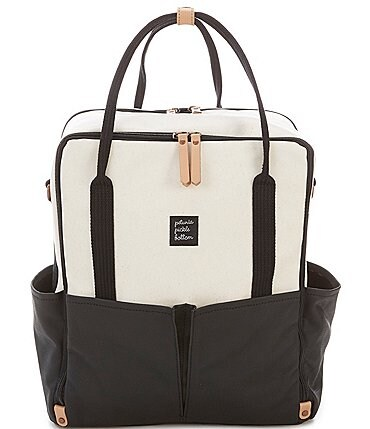 Image of Petunia Pickle Bottom Inter-Mix Colorblock Backpack Diaper Bag