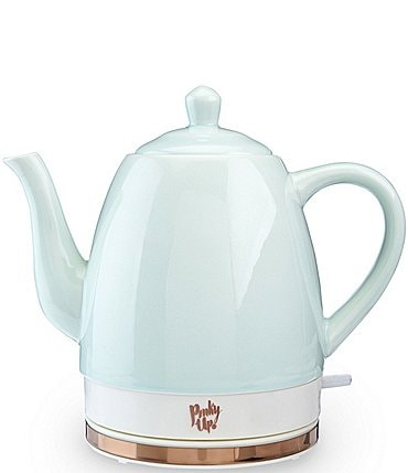 Image of Pinky Up Noelle Ceramic Electric Tea Kettle