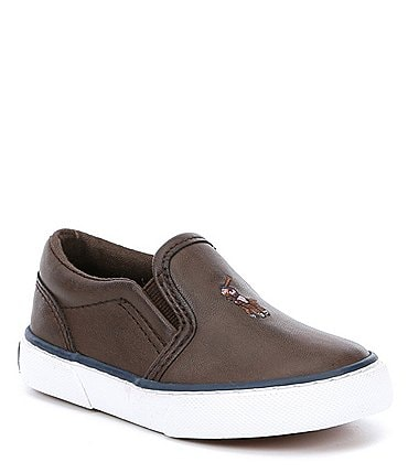 Image of Polo Ralph Lauren Boys' Bal Harbour II Slip On Sneaker